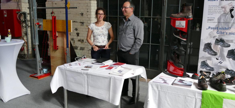 Ausstellungsstand Firma Batiroc Protect