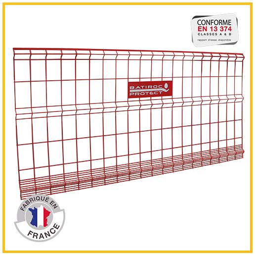 grille de protection - cadre grillagé - Batigrille - garde-corps grillagé