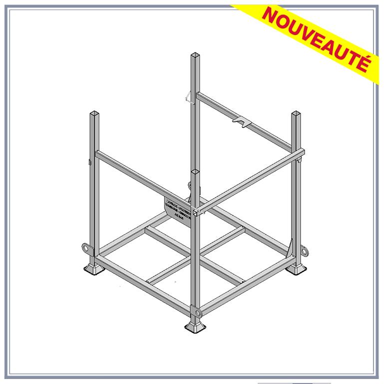 Panier de stockage grilles - panier de chantier