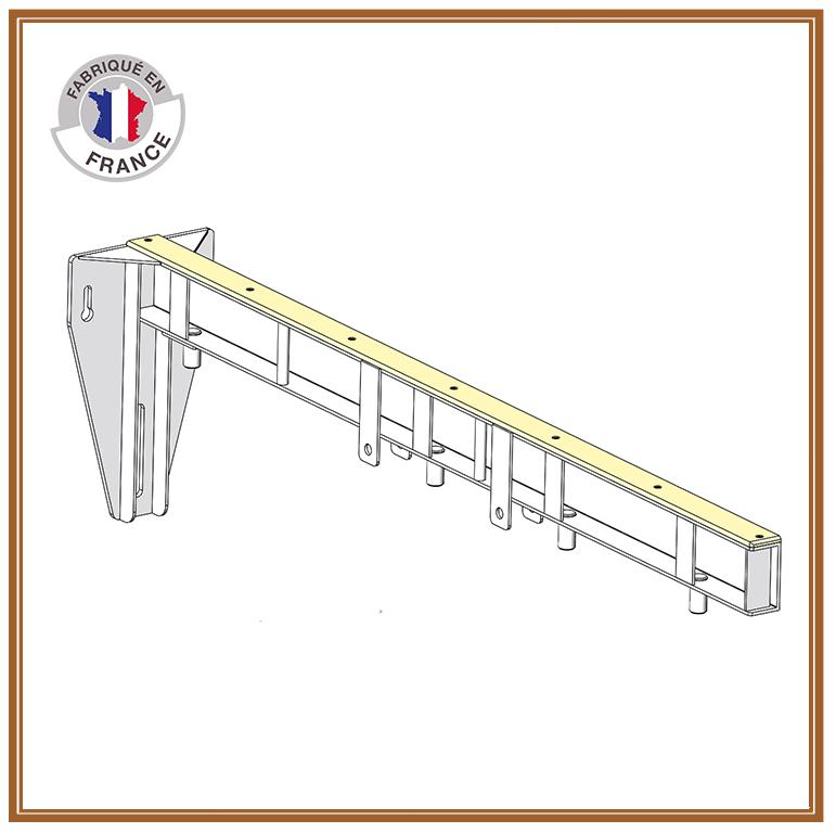 Poutre balcon aluminium - coffrage balcon