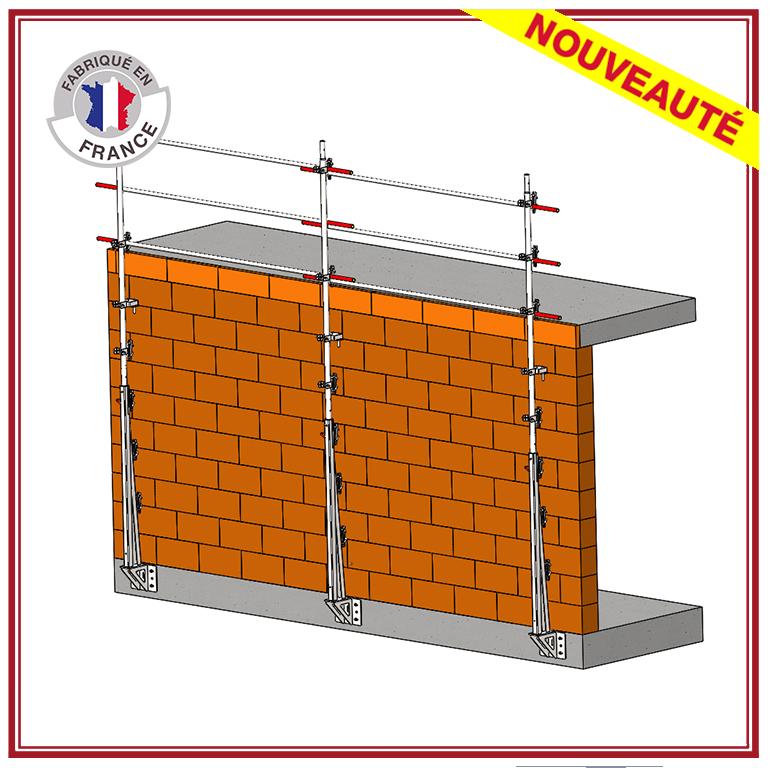 protection grimpante - structure autoporteuse - travaux maçonnerie - VARIO